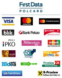 Płatności online First Data Polcard